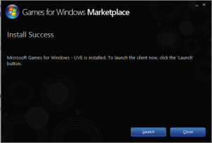 Games for Windows Marketplace
