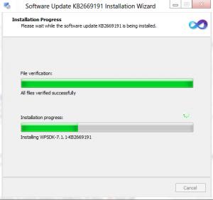 Windows Phone 7.1.1 SDK installing