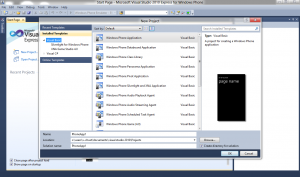 Windows 8 Consumer Preview running Visual Studio 2010 Express for Windows Phone