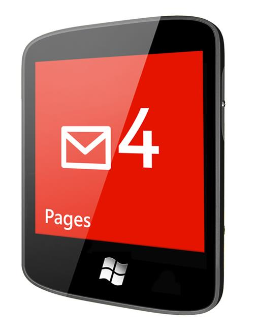 Windows Phone Pager