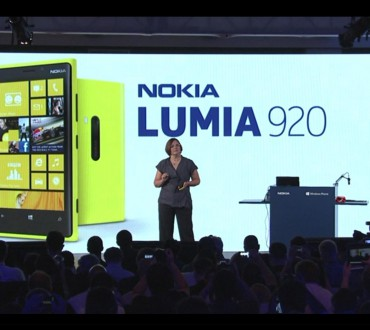 Introducing the Nokia Lumia 920, Nokia's flagship device for Windows Phone 8